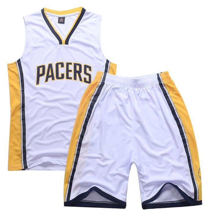 7b6932f6875b Pacers team basketball clothes wear customized