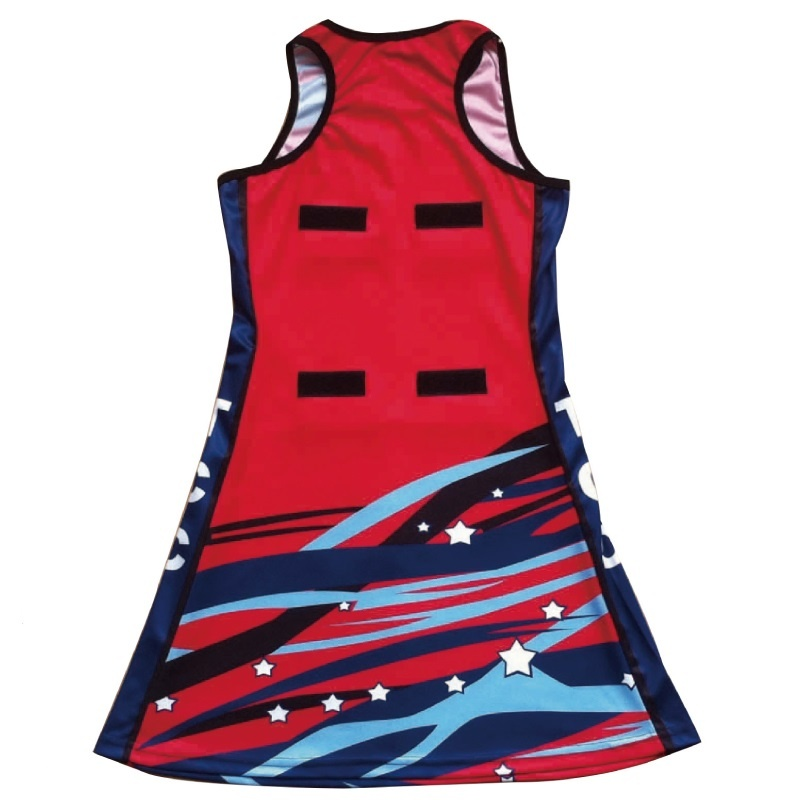 Australia design netball wear dress