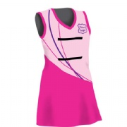 OEM factory A-line custom sublimated all over print australia slim fit tennis netball dress