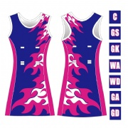 New arrive sublimated basketball team netball dress