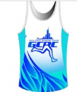 Breathable and High Quality Sublimated Men Running Singlets & Top